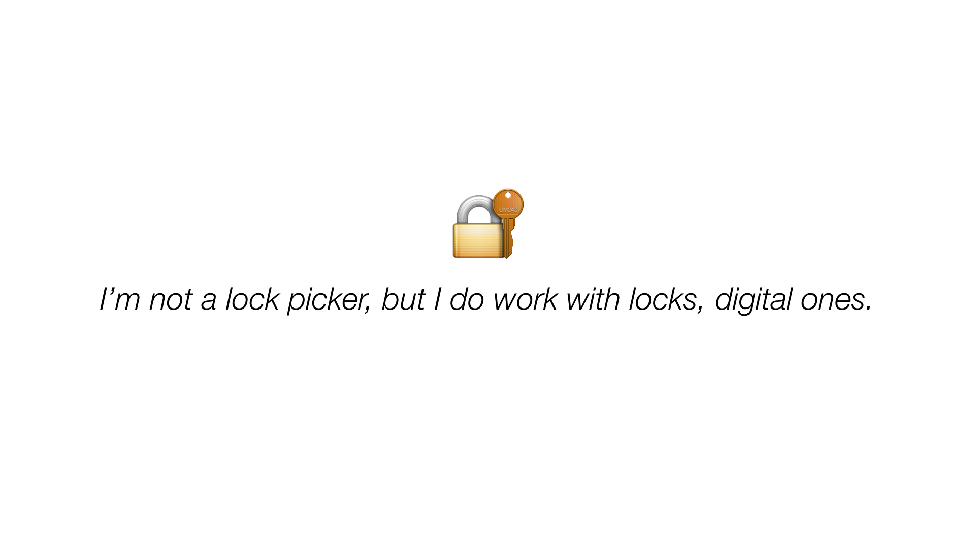Digital Lockpicker
